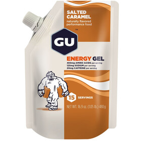 GU Energy Gel Bulk Pack 480g Salted Caramel